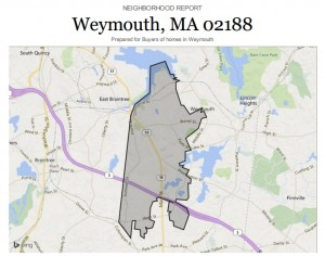 Click on the map to see the Weymouth report